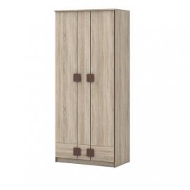 Шкаф 2-х дверный Диско с ящиками